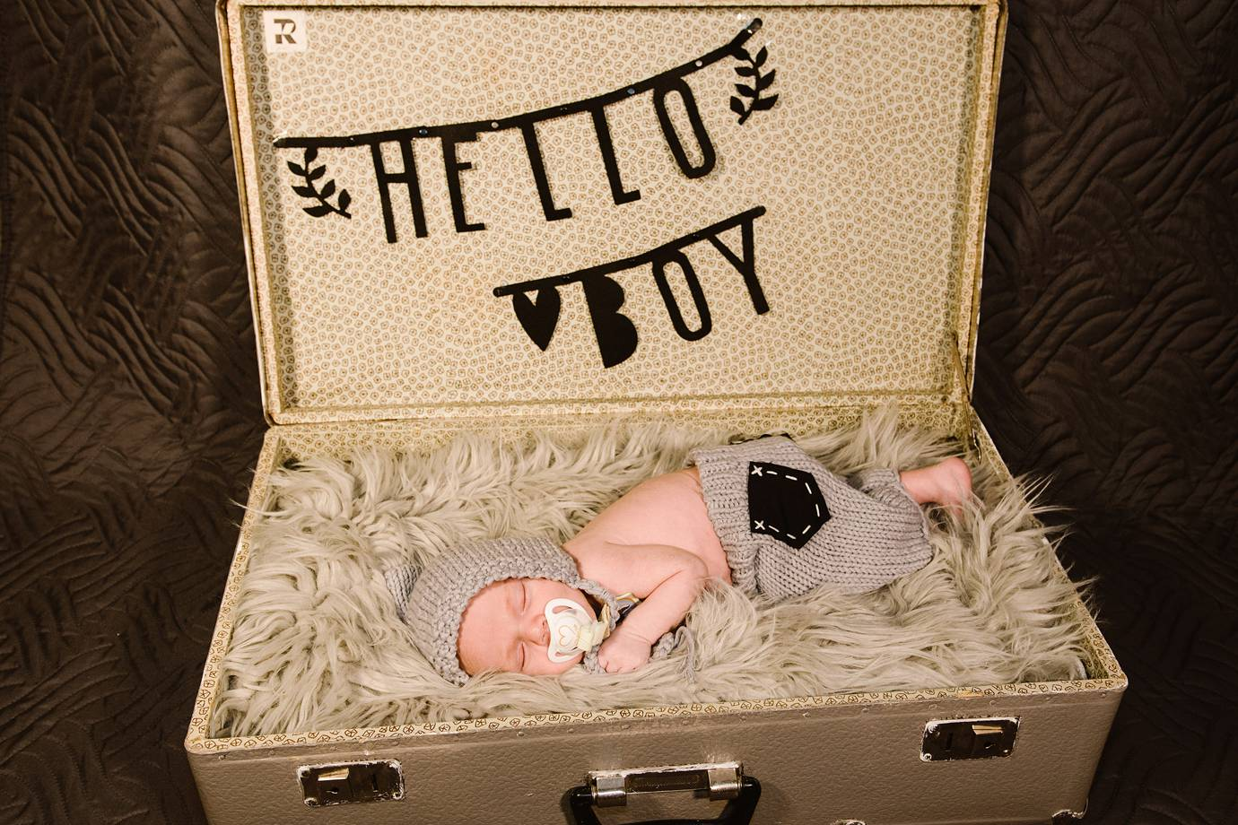 Babyfotos Holste