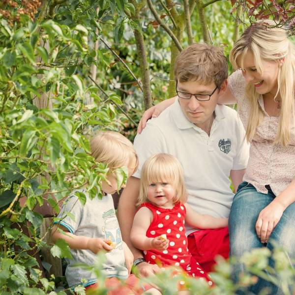 Familienfotos von Doreen+Dominik