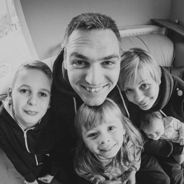 Familienfotos von Familie Schmidt
