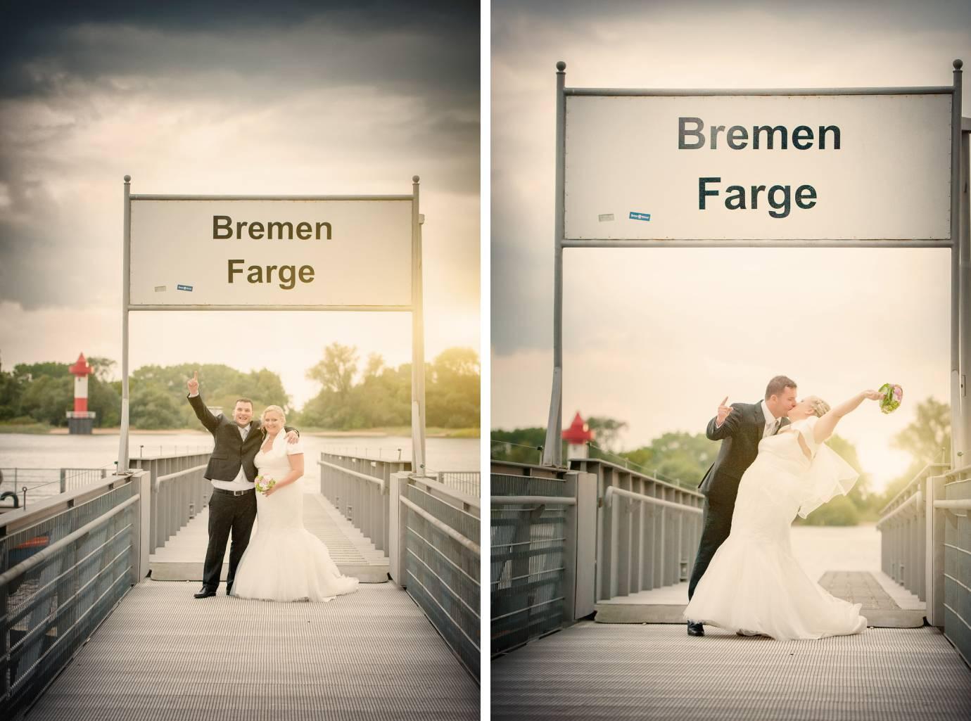Hochzeitsfotograf Bremen-Farge