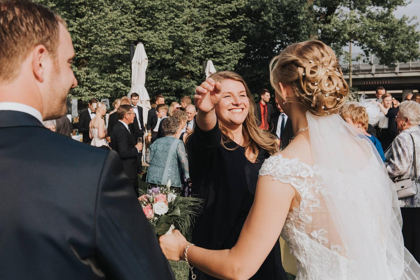 Hochzeit im Grollander Krug in Bremen