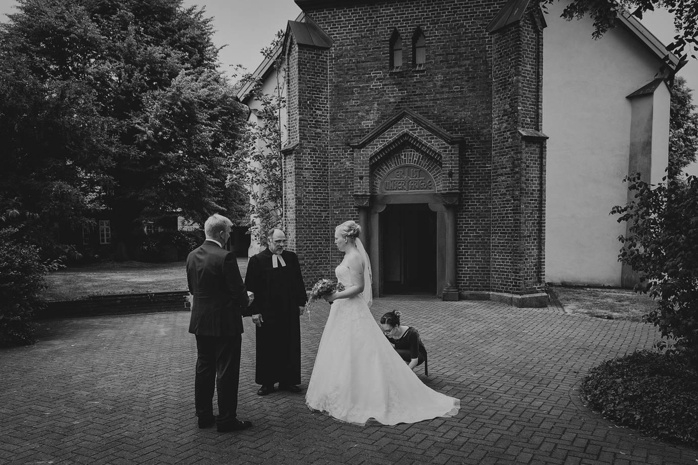 Hochzeit in Kirchtimke (LK Rotenburg)