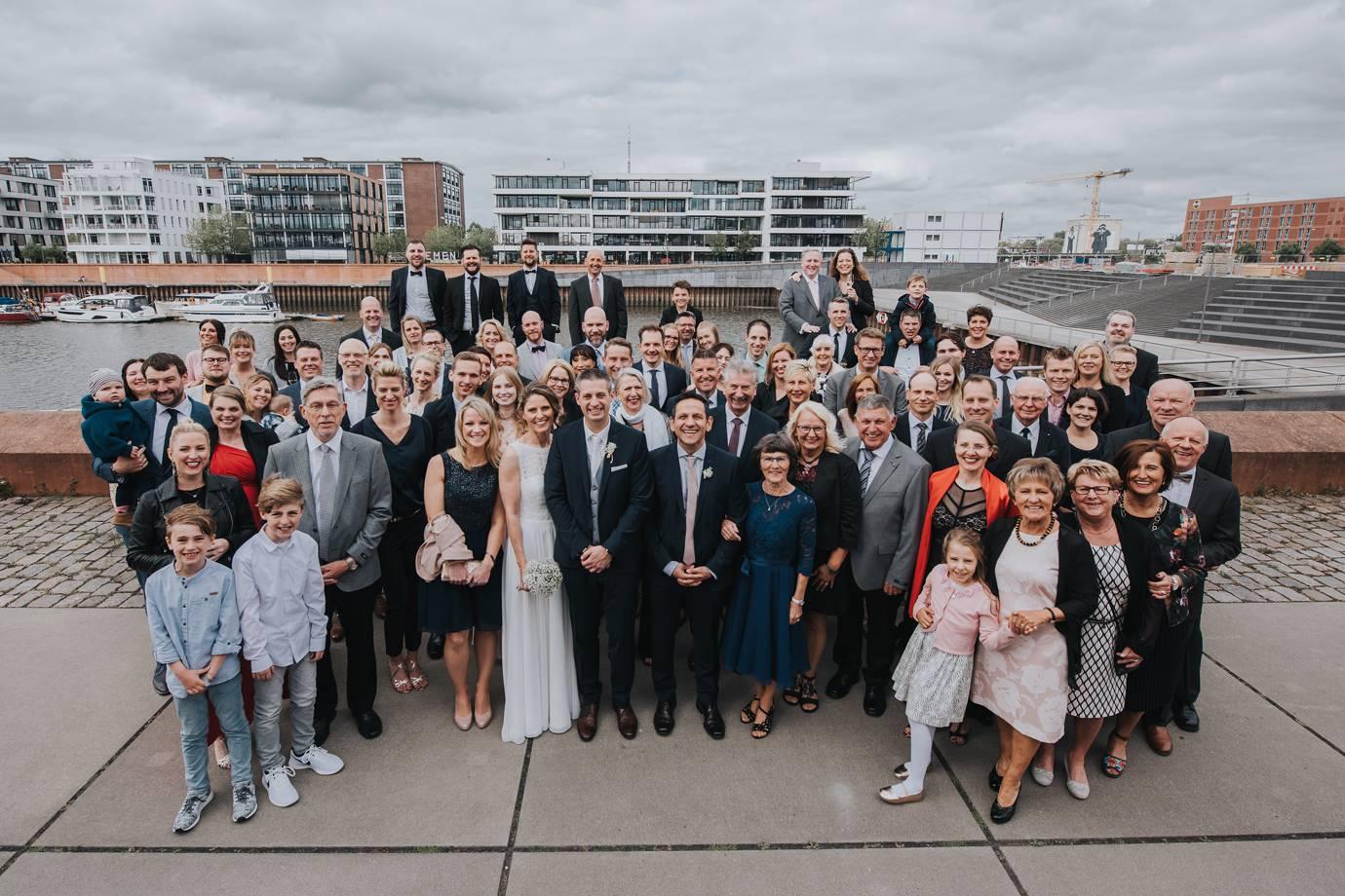 Hochzeit in der Überseestadt Bremen